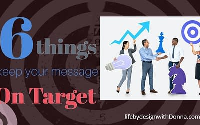 The  Simple 6 Step Process To Creating  The Perfect Message That Cuts Through The Noise And Grabs The Attention of Your Ideal Prospect or Customer.