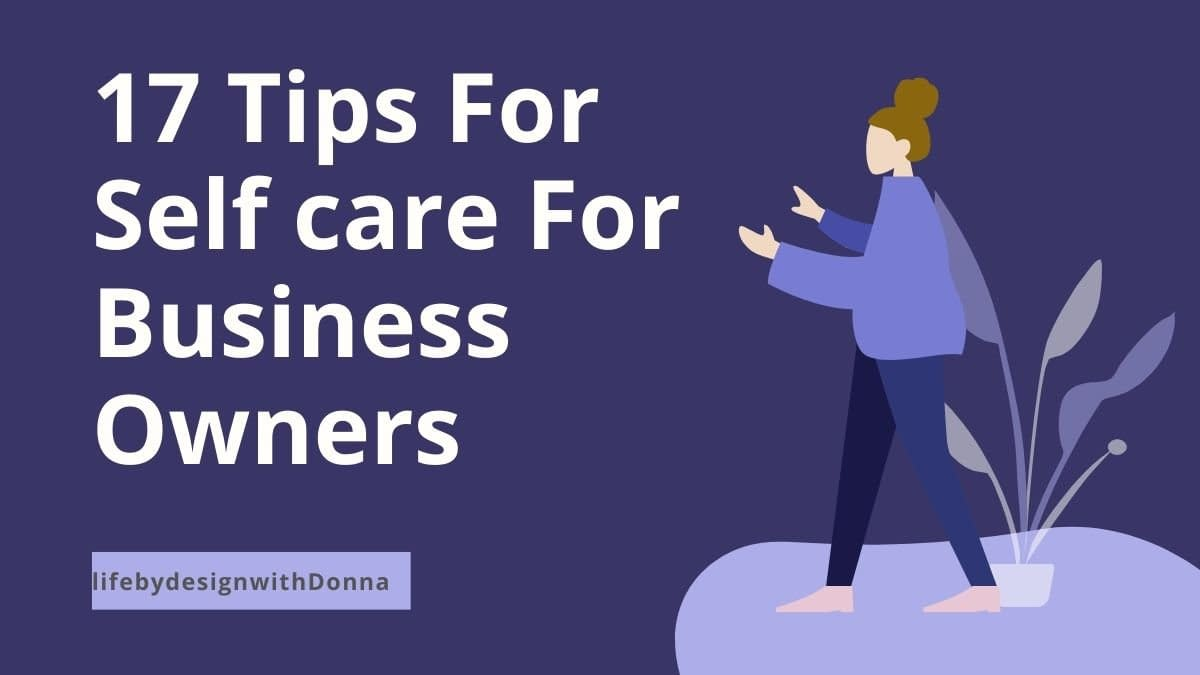 selfcare tips for business tips