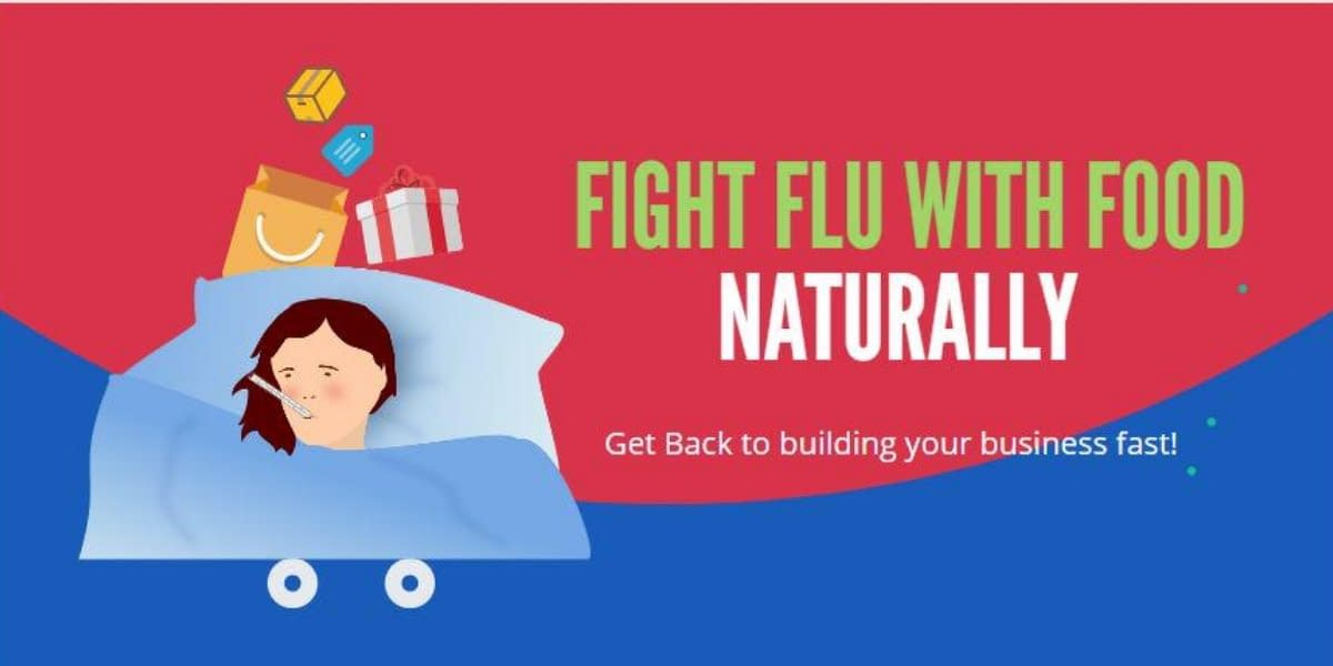 fight the flu naturally with food