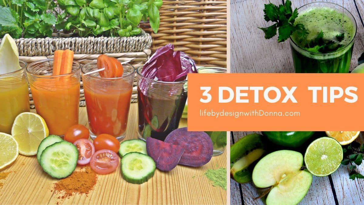 3 tips for choosing the best detox for you