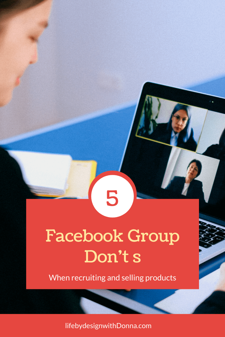 Avoid These 5 Major Mistakes Most  Home Business Owners Make With Facebook Groups