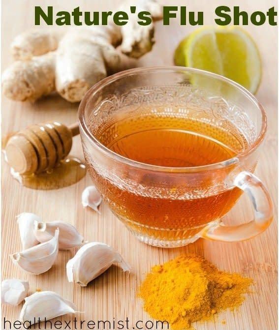 10 Effective Natural Alternatives To Flu Shots. Back To Basics. 4