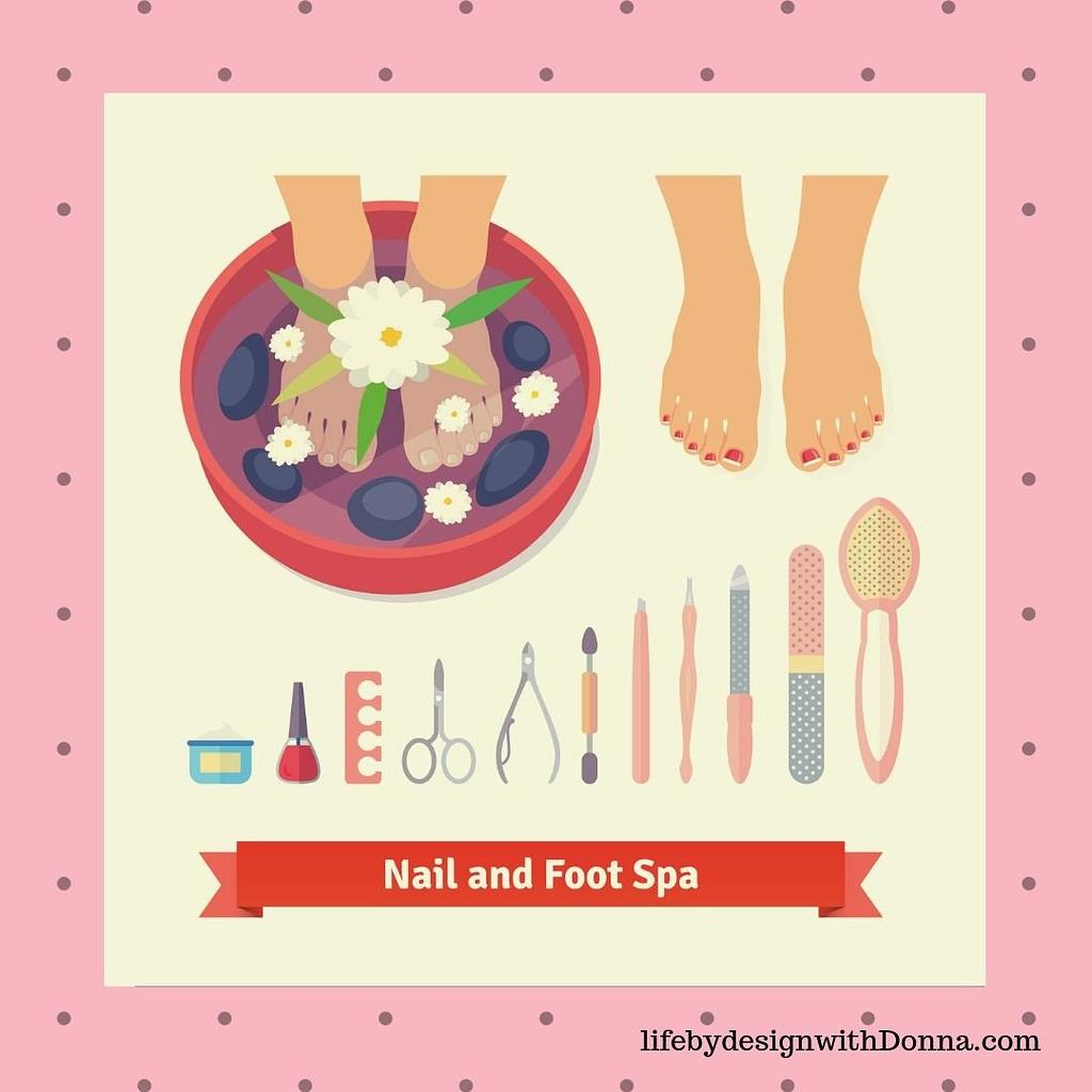 nail and foot spa