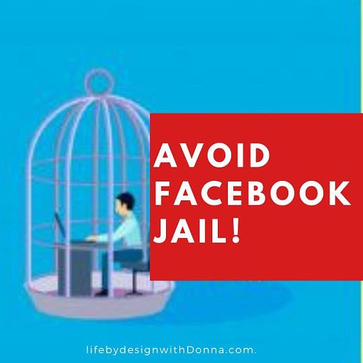 avoid Facebook jail