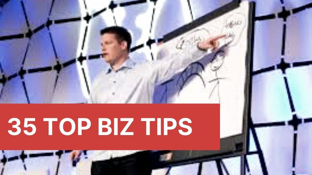 35 Top Biz Tips. Russell Brunson